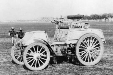 1899 Benz 8HP Rennwagen