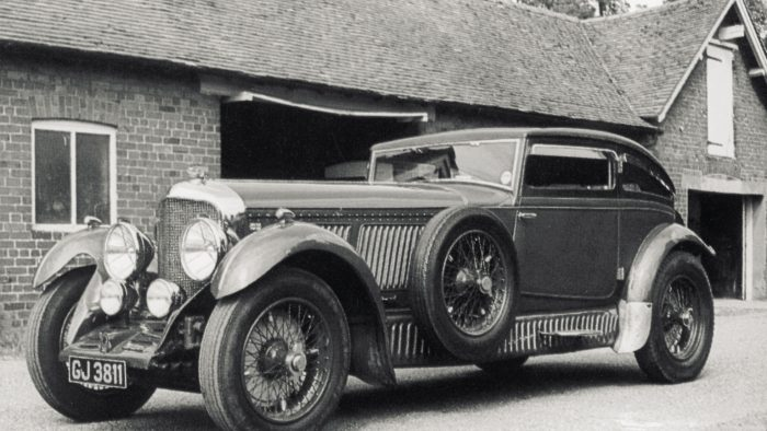 1929→1930 Bentley Speed 6