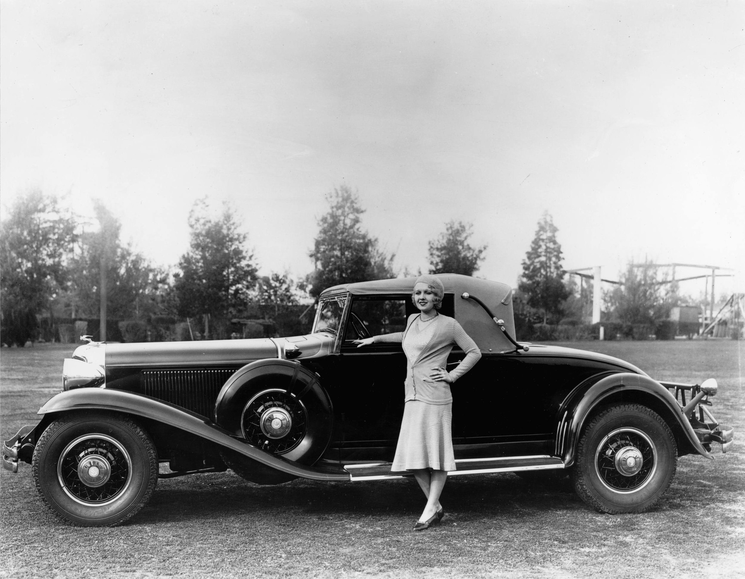1931 CG Imperial Roadster. Chrysler brand 75th Anniversary press kit photo. March, 1999.