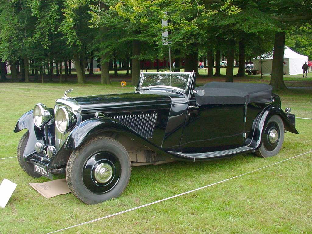 1934→1936 Bentley 3½ Litre
