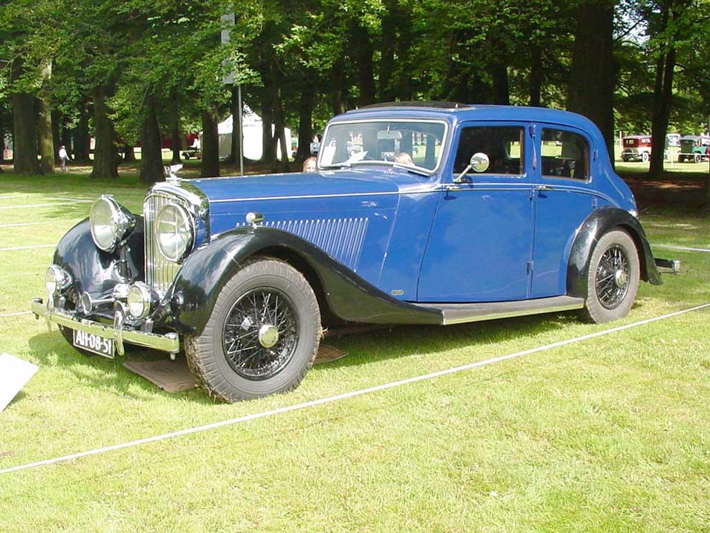 1936→1939 Bentley 4¼ Litre