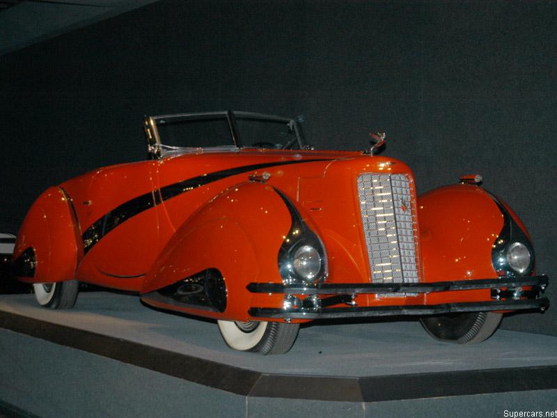 1937 Cadillac V16 Hartmann Cabriolet