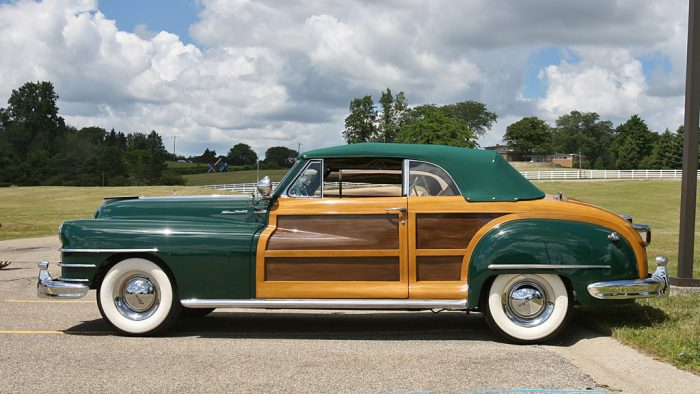 1946→1948 Chrysler Town & Country Convertible