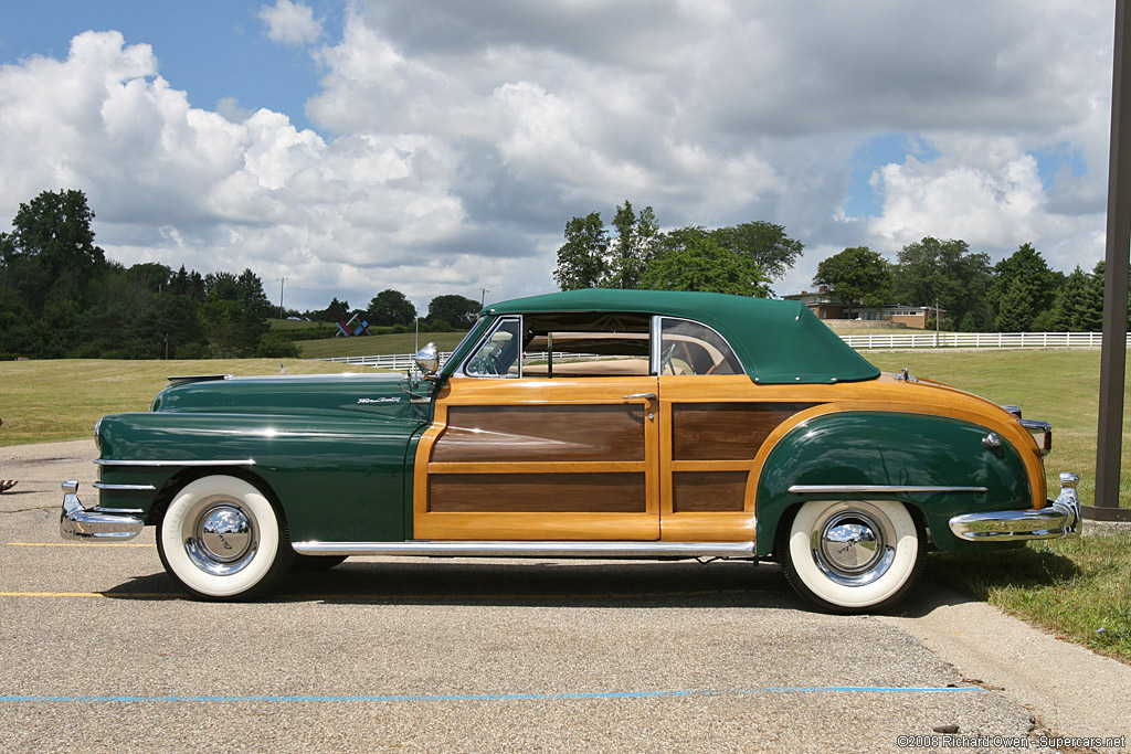 1946 1948 Chrysler Town Country Convertible