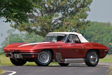 1963 Chevrolet Corvette Sting Ray 'Bunkie Knudsen' Convertible