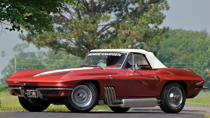 1963 Chevrolet Corvette Sting Ray 'Bunkie Knudsen' Convertible