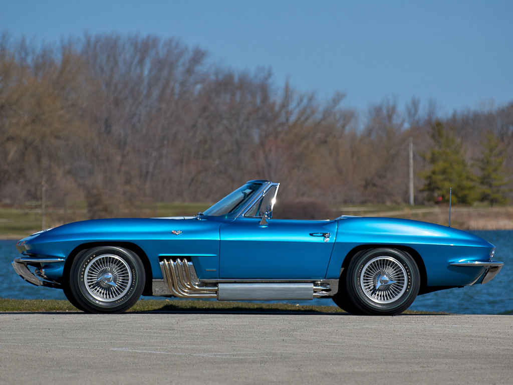 1963 Chevrolet Corvette Sting Ray Convertible Show Car