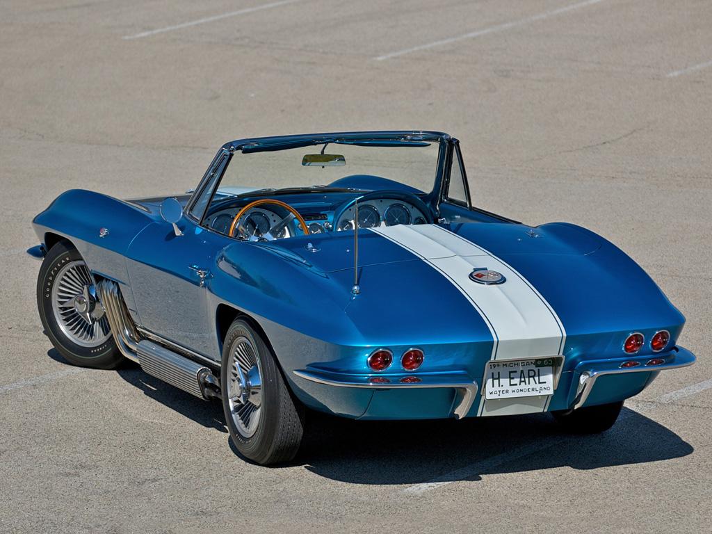 1963 chevrolet corvette sting ray convertible show car. Black Bedroom Furniture Sets. Home Design Ideas