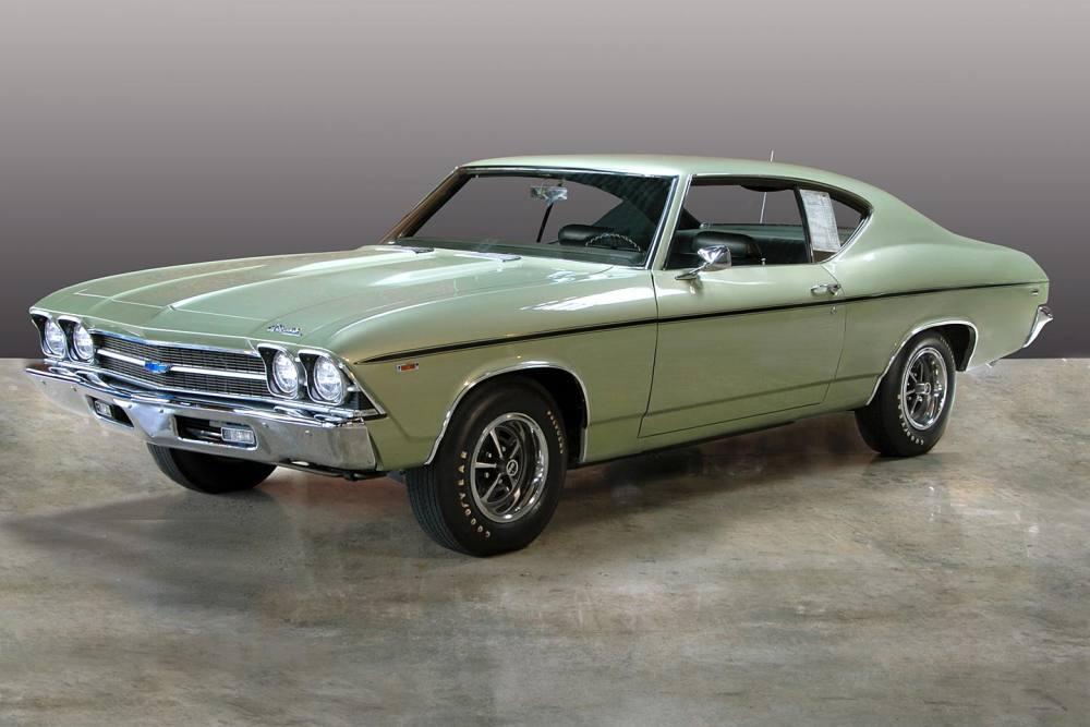 1969 Chevrolet Chevelle L72 427/425HP COPO 9562