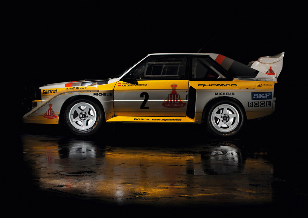 Race Cars For Sale >> 1985 Audi Sport Quattro S1 Pics & Information