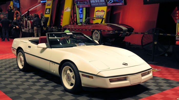 1987 Callaway Corvette B2K Twin Turbo