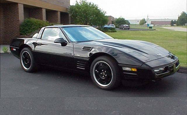 1990 Chevrolet Corvette ZR1 Active Suspension