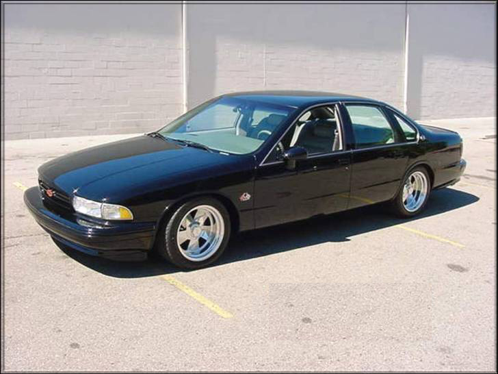 1992 Chevrolet Impala Ss 510 Coupe Supercars Net