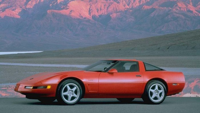 1993 Chevrolet Corvette Coupe ZR1