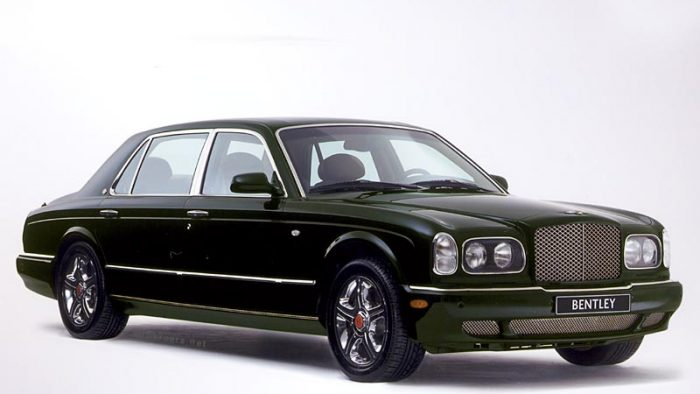 2001 Bentley Arnage Red Label LWB