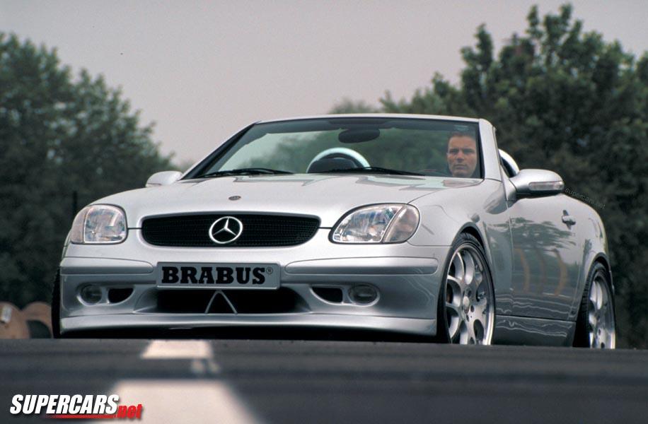 2001 Brabus SLK 3.8 S