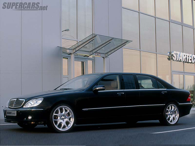 2002 Brabus 6.7 V12 Business Sedan