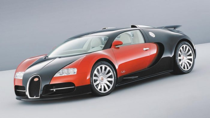 2002 Bugatti 16/4 Veyron Preproduction