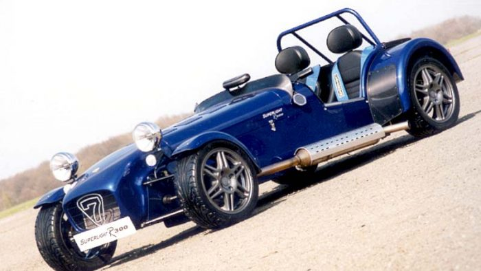 2002 Caterham Seven Superlight R300