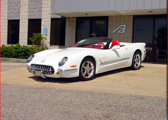 2003 AAT Corvette 1953/2003 Commemorative Edition