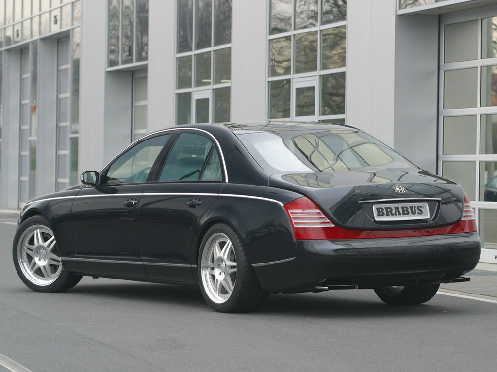 Performance of the luxury sedan benefits accordingly with brabus sv 12 engine the maybach 57 accelerates bin just 4 9 seconds from 0 100 km h
