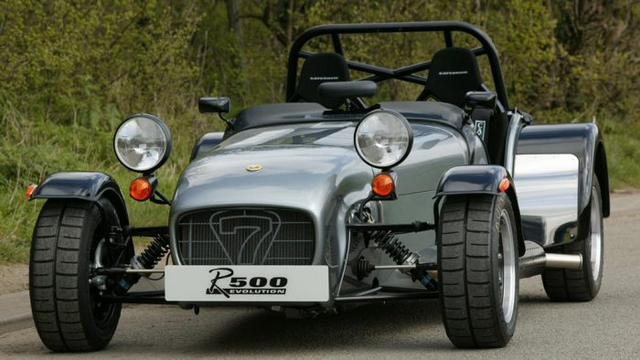 2004 Caterham Seven Superlight R500 Evolution