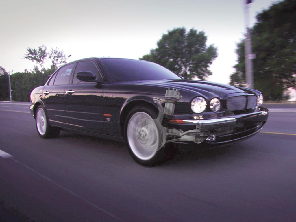 Wonderful 2004 Jaguar XJR
