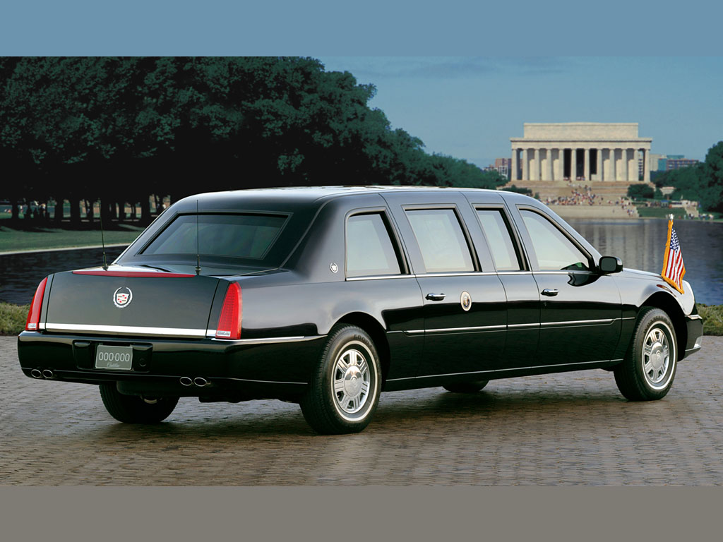 2005 cadillac dts presidential limousine cadillac. Black Bedroom Furniture Sets. Home Design Ideas