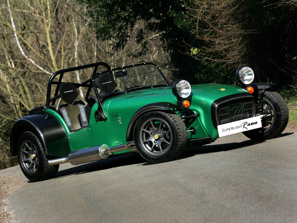 2006 Caterham Seven Superlight R400 Caterham Supercars Net