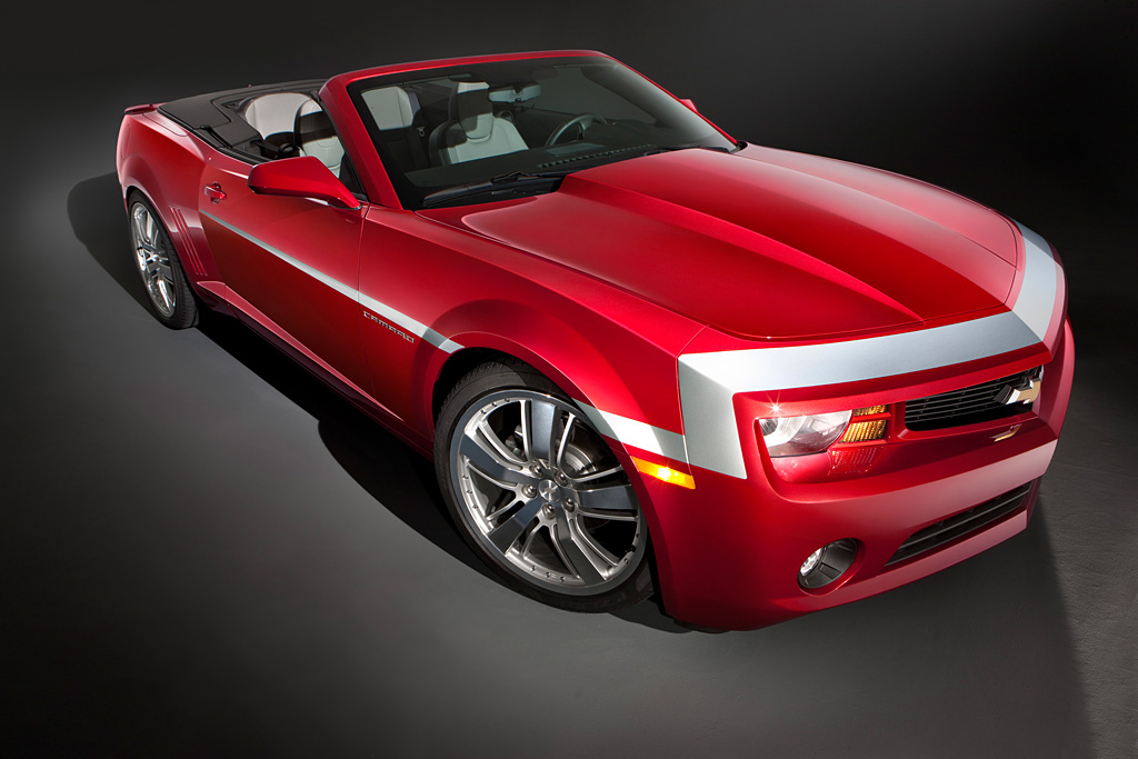 Captivating The Camaro Red Zone Concept Convertible Showcases A Carefully Selected  Collection Of Accessories, Including A New, Heritiage Inspired Stripe  Graphic, ... Idea