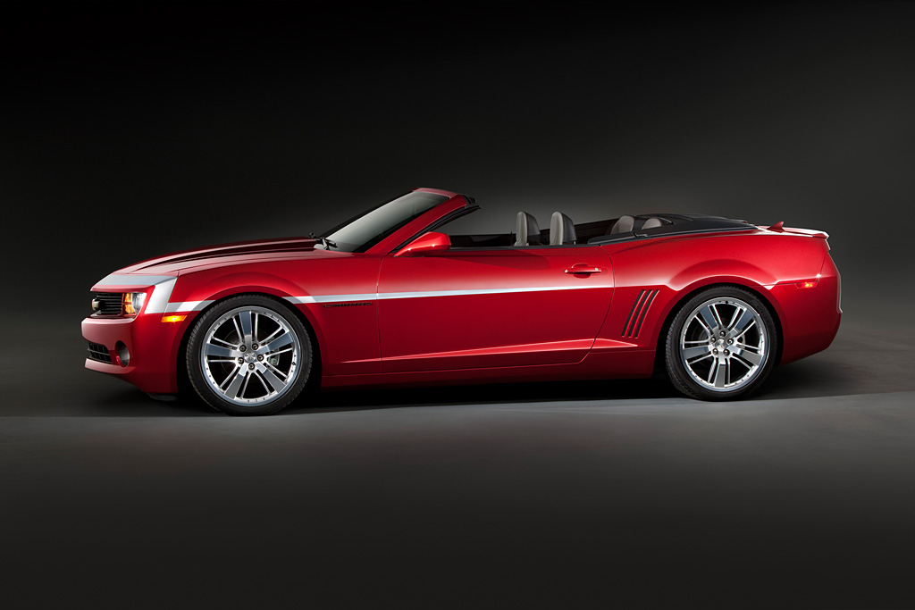 The Camaro Red Zone Concept Convertible Showcases A Carefully Selected  Collection Of Accessories, Including A New, Heritiage Inspired Stripe  Graphic, ...