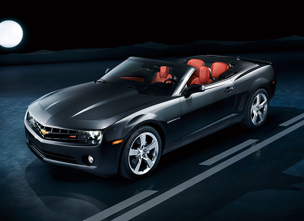 The 21st century rebirth of the Chevrolet Camaro opens a new chapter with the launch of the 2011 Camaro Convertible. (11/16/2010)  (United States)