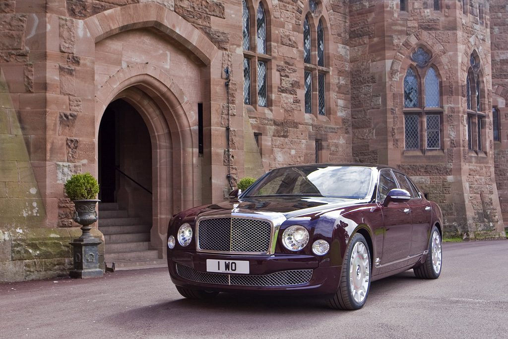 2012 Bentley Mulsanne Diamond Jubilee Edition