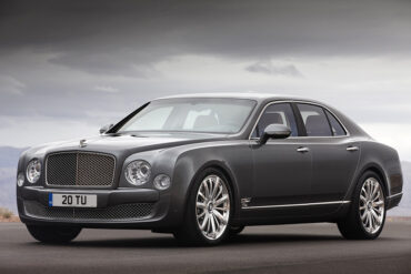 2012 Bentley Mulsanne Mulliner Driving Specification