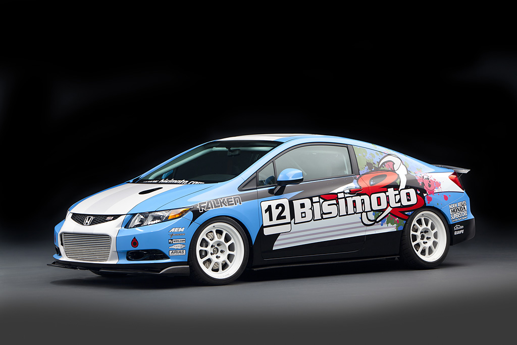 2012 Bisimoto Engineering Civic Si Coupe Honda