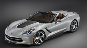 2014 Chevrolet Corvette Stingray Convertible Atlantic Concept