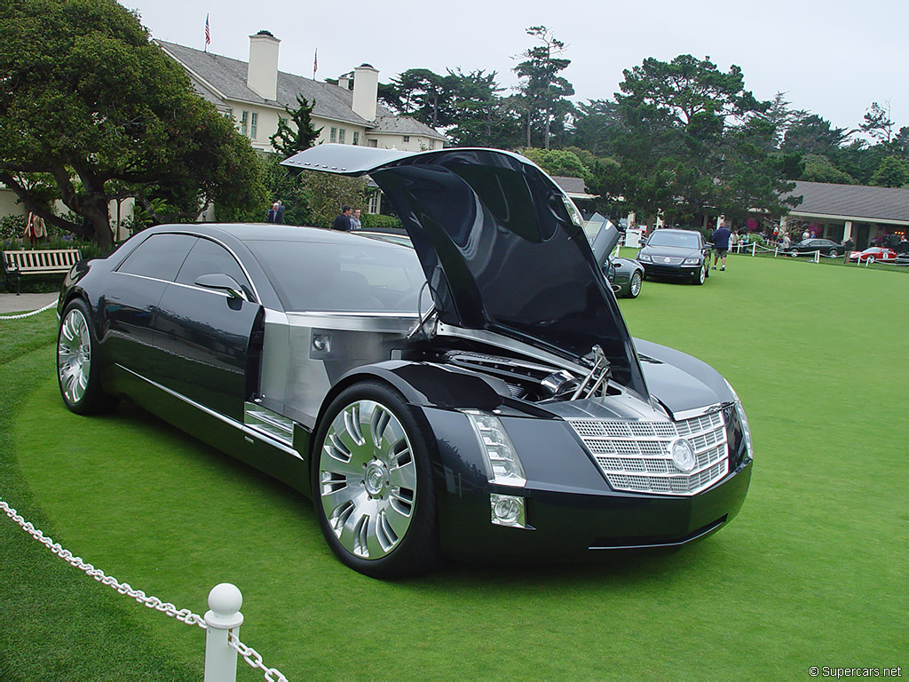 2003 Cadillac Sixteen Concept Gallery Cadillac Supercars Net