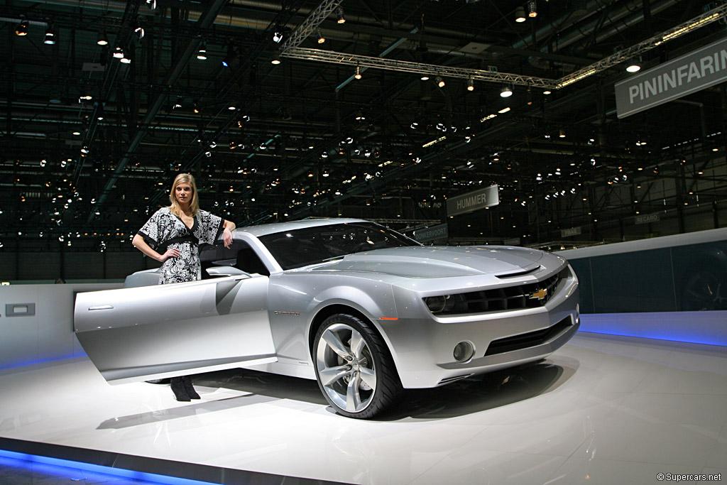 2006 Chevrolet Camaro Concept Gallery