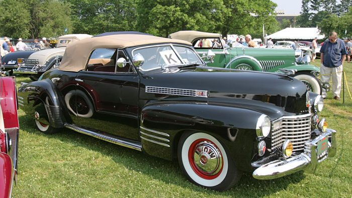1941 Cadillac Series 62 Convertible Coupe Gallery