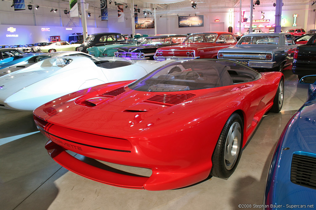 1986 Chevrolet Corvette Indy Concept Gallery