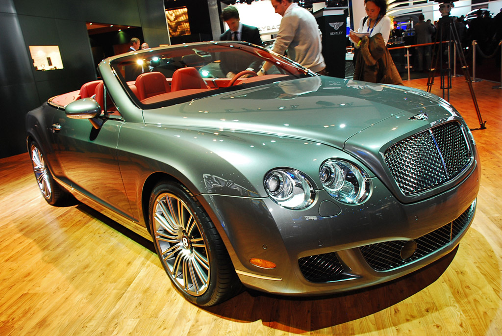 2009 Bentley Continental GTC Speed