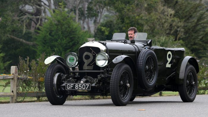 1928 Bentley Speed 6 Works Racing Car Gallery