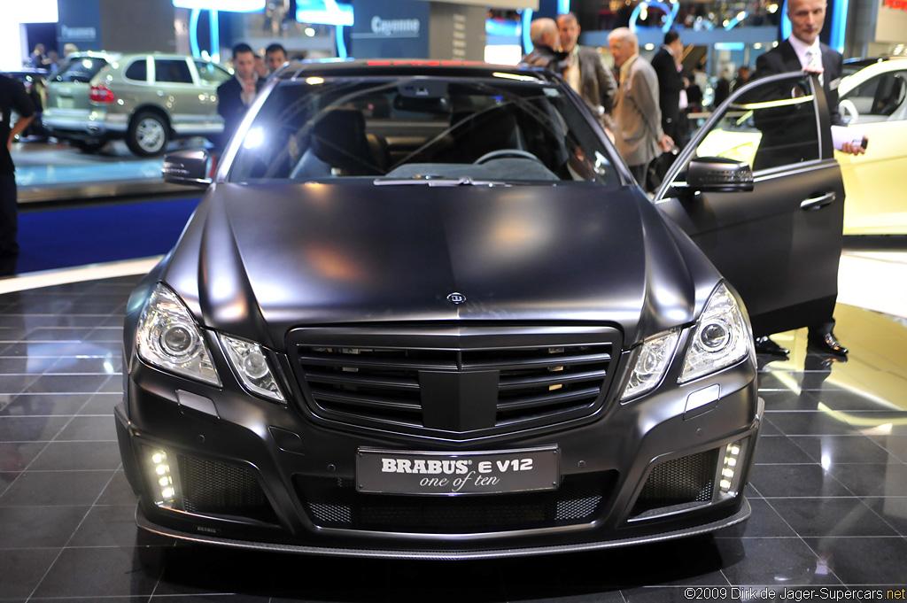 2009 Brabus E V12 'Black Baron' Gallery