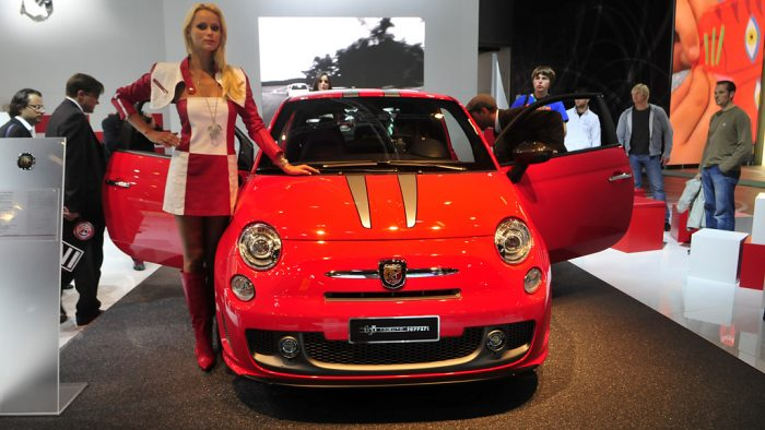 2009 Abarth 695 'Tributo Ferrari' Gallery