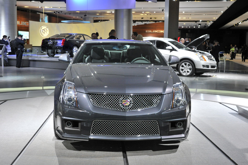 2011 Cadillac CTS-V Coupe Gallery