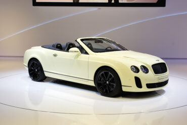 2010 Bentley Continental Supersports Convertible Gallery