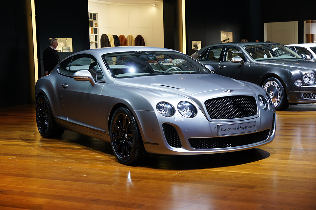 2009 Bentley Continental Supersports Coupé Gallery