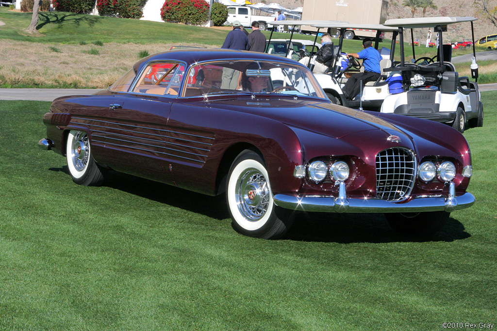 1953 Cadillac Series 62 Ghia Coupe Gallery Supercars Net