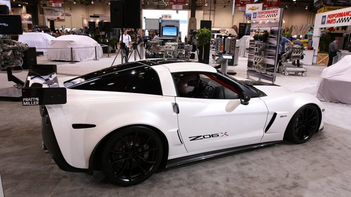 2010 Chevrolet Corvette Z06X Track Car Concept Gallery