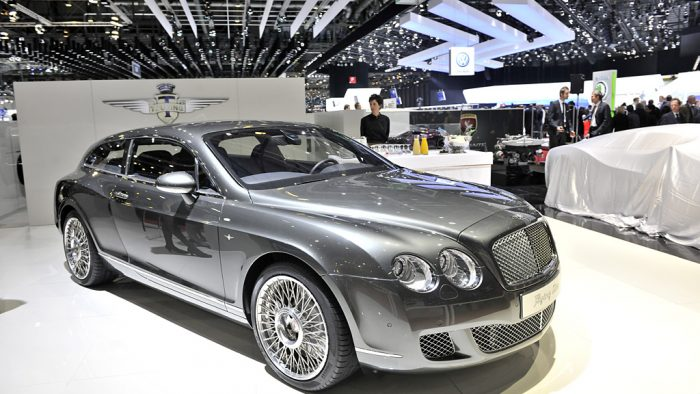 2010 Bentley Continental 'Flying Star' Gallery